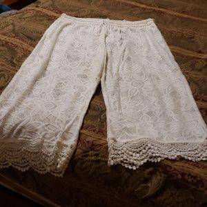 Aerie Lace Culotte Swim Cover Up